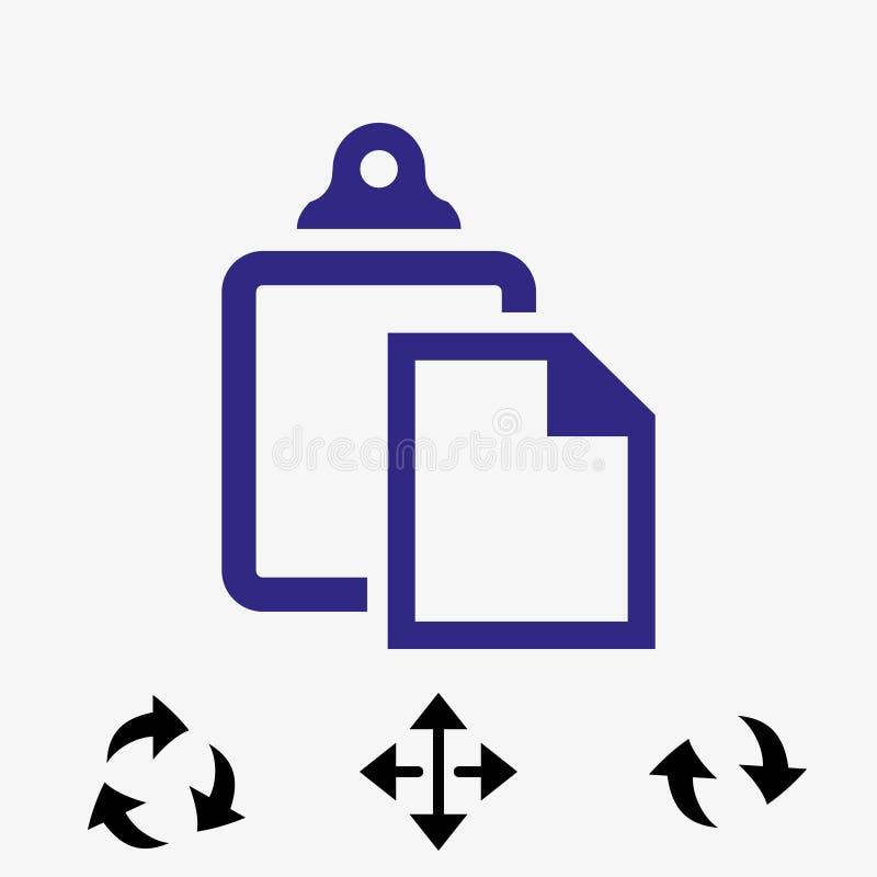 Progettazione piana dell'illustrazione di vettore delle azione dell'icona della pasta royalty illustrazione gratis