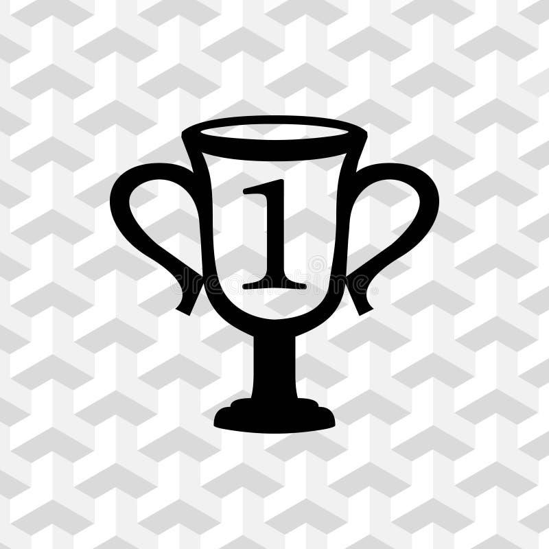 Progettazione piana dell'illustrazione di vettore delle azione dell'icona della tazza di campioni royalty illustrazione gratis