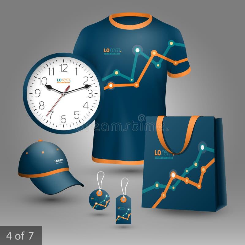Progettazione promozionale degli elementi illustrazione vettoriale
