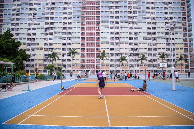 Progettazione variopinta dell'arcobaleno di Hung Estate immagine stock libera da diritti