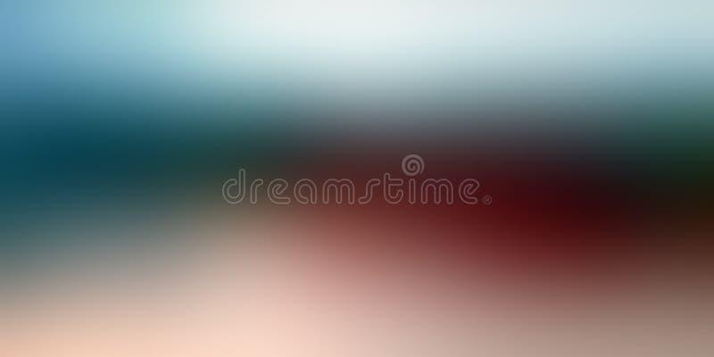 Progettazione variopinta di vettore del fondo dell'estratto della sfuocatura, fondo protetto vago variopinto, illustrazione viva  fotografie stock