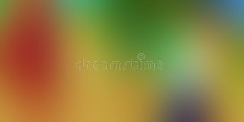 Progettazione variopinta di vettore del fondo dell'estratto della sfuocatura, fondo protetto vago variopinto, illustrazione viva  fotografia stock
