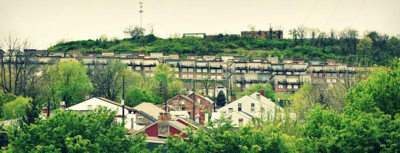 Progetti abitativi - Cincinnati, Ohio immagine stock