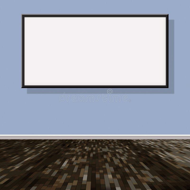 Progetto della stanza illustrazione vettoriale