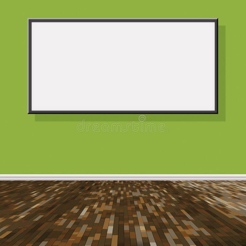 Progetto della stanza illustrazione di stock