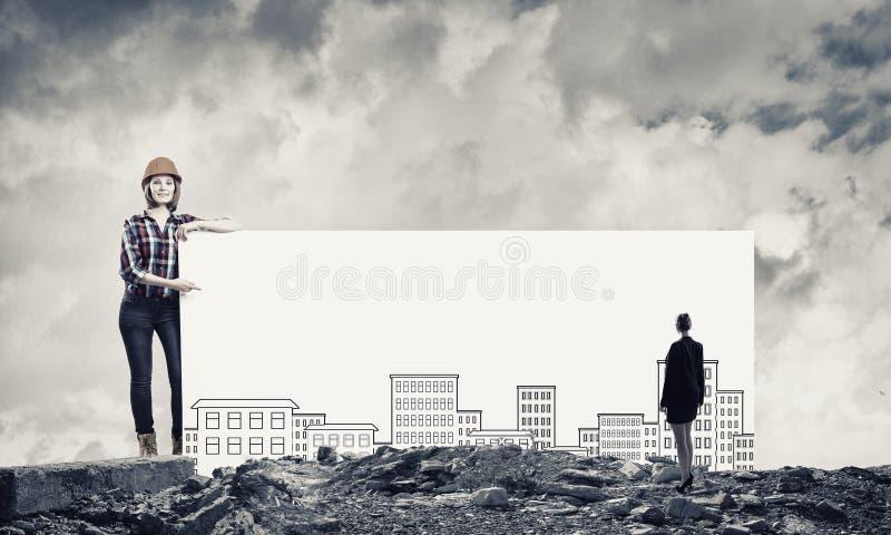 Progetto di sviluppo immagine stock