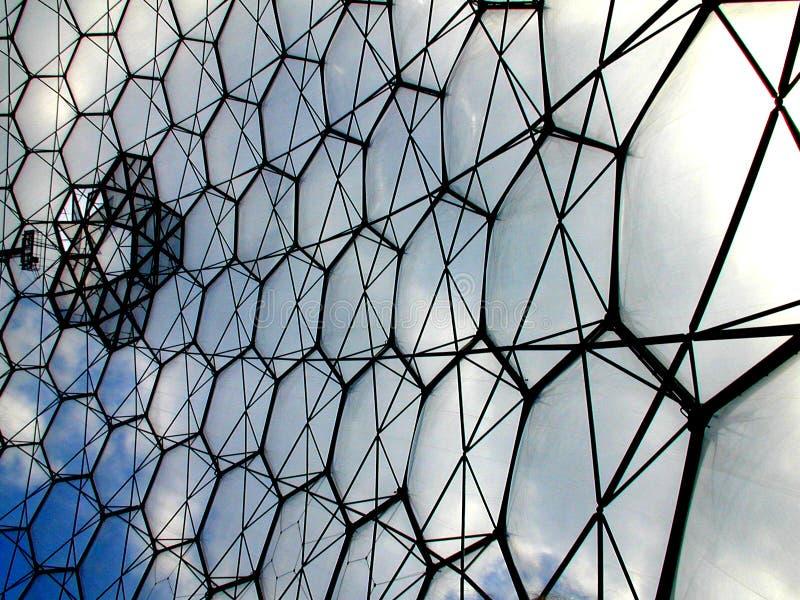 Progetto il Eden - bioma fotografia stock libera da diritti