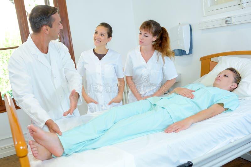 Prognose eines Patienten lizenzfreie stockfotos