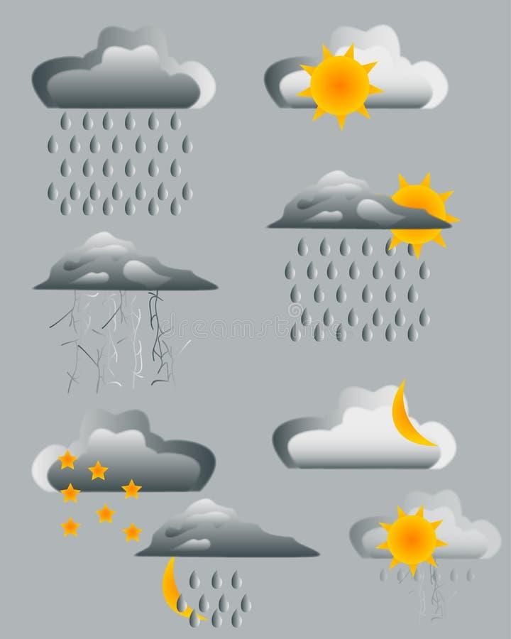 prognozy galerii ikony mój zadawalają widzią jednakowego wizyty pogoda ilustracji