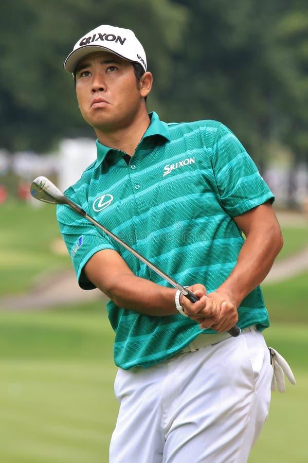 Progolfspieler Hideki Matsuyamas PGA stockfoto