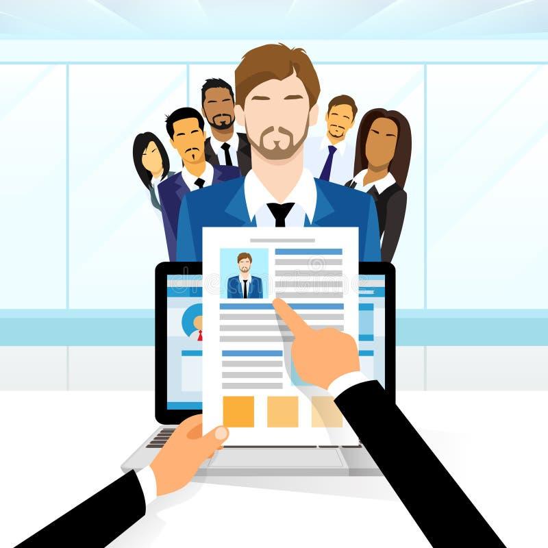 Program Nauczania - vitae kandydata Rekrutacyjna praca ilustracji