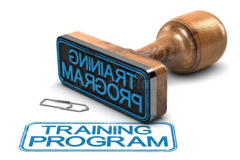 Program Szkoleniowy royalty ilustracja