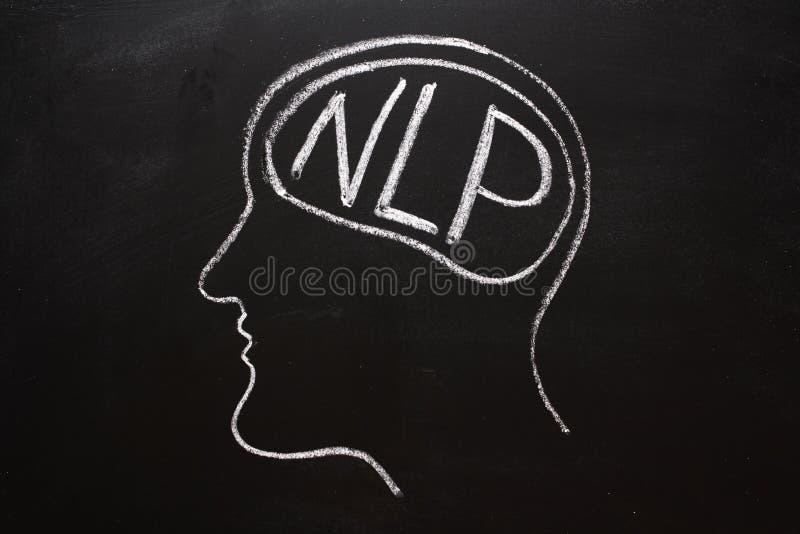 Programação Neuro-lingüística fotos de stock