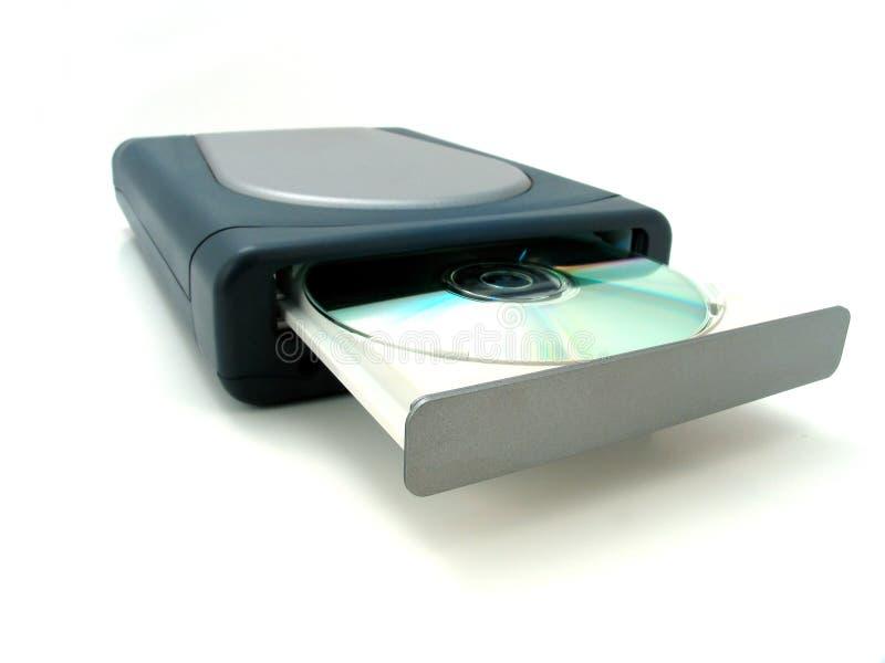 Programa de escritura de DVD fotos de archivo libres de regalías