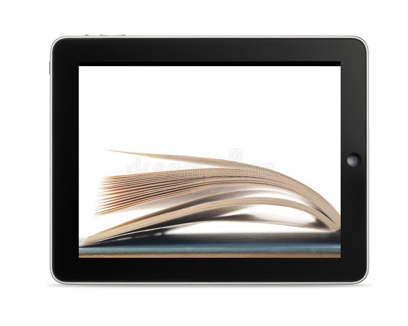 Programa de lectura de Ebook imágenes de archivo libres de regalías
