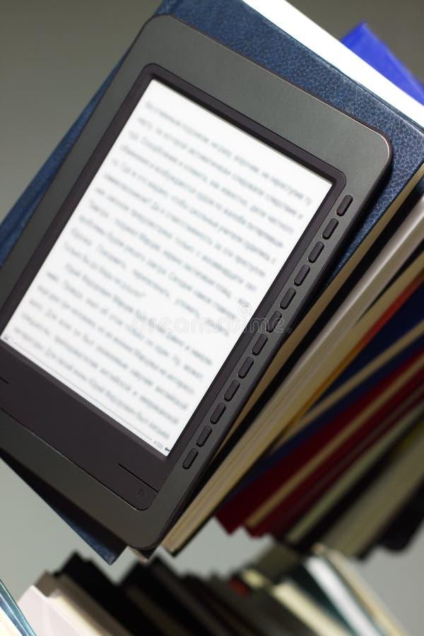 programa de lectura del E-libro imagenes de archivo