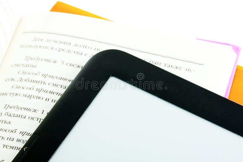 programa de lectura del E-libro con los libros imágenes de archivo libres de regalías