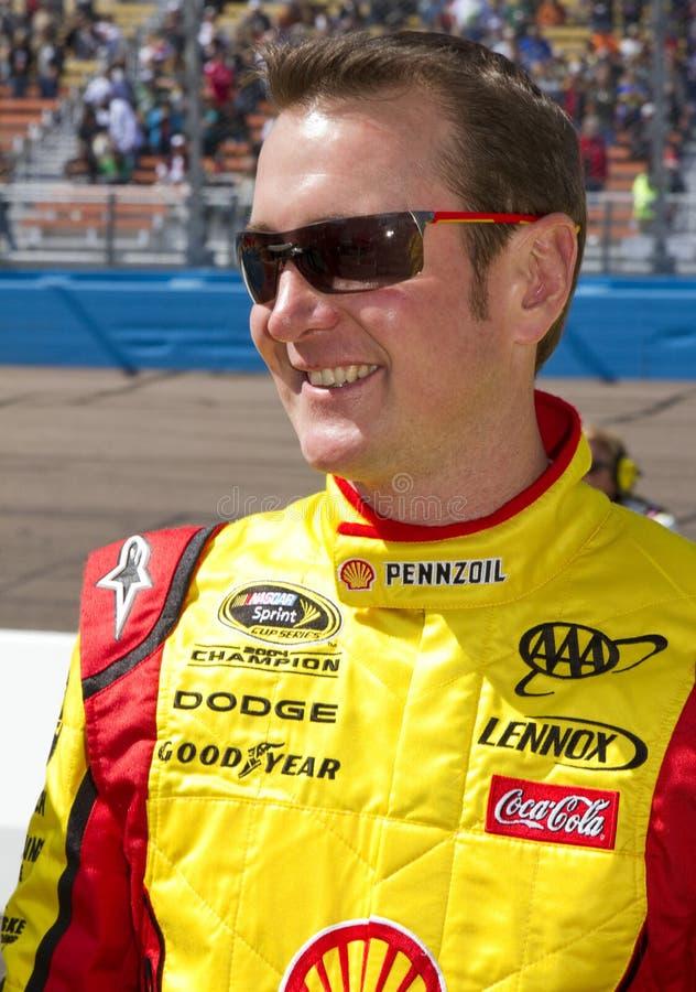 Programa piloto Kurt Busch de NASCAR fotos de archivo