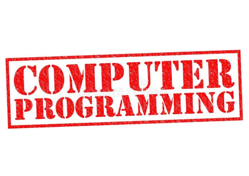Programación informática stock de ilustración