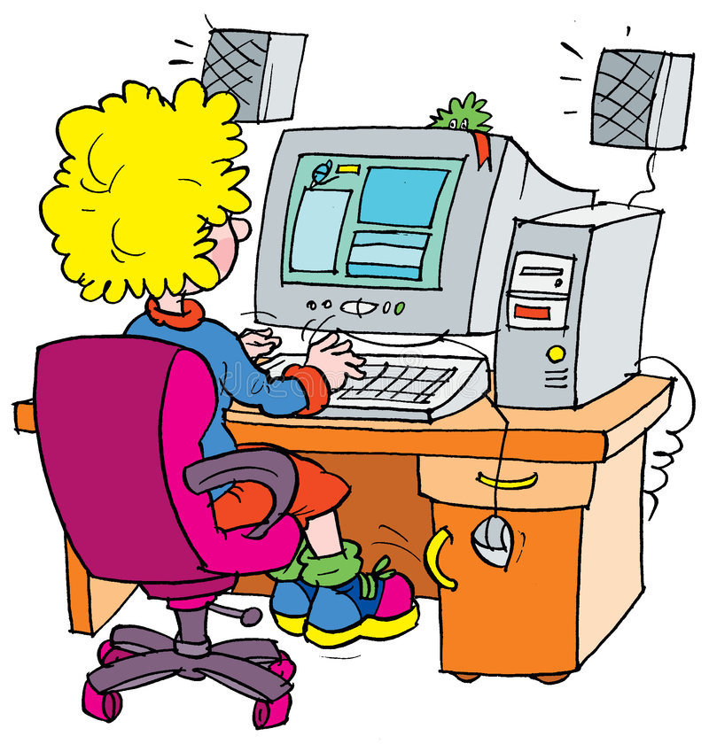 Programador ilustração stock