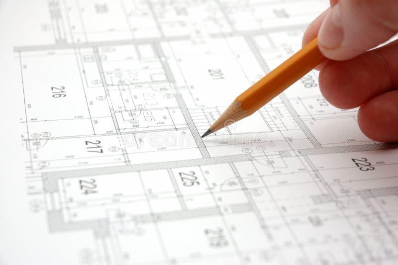 Programma 7 della costruzione fotografia stock immagine for Programma di architettura
