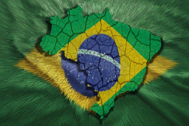 Programma brasiliano royalty illustrazione gratis