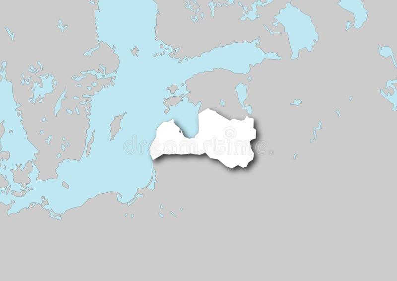 Download Programma del Latvia illustrazione di stock. Illustrazione di europeo - 3889009