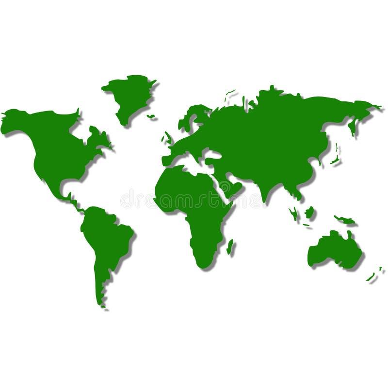 Programma del mondo illustrazione vettoriale