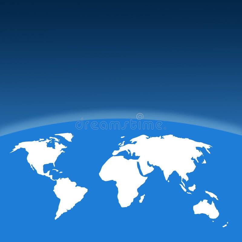 Programma del profilo del mondo royalty illustrazione gratis