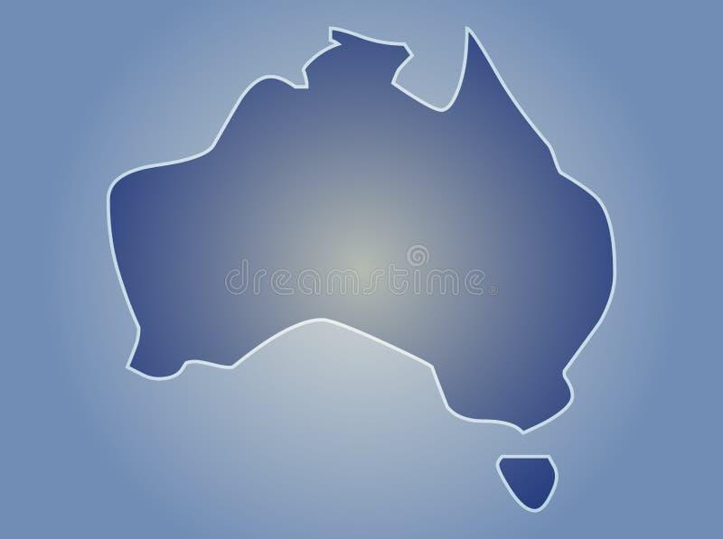 Programma dell'Australia illustrazione di stock