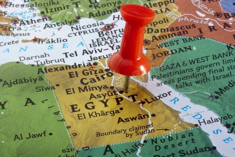 Programma dell'Egitto fotografia stock