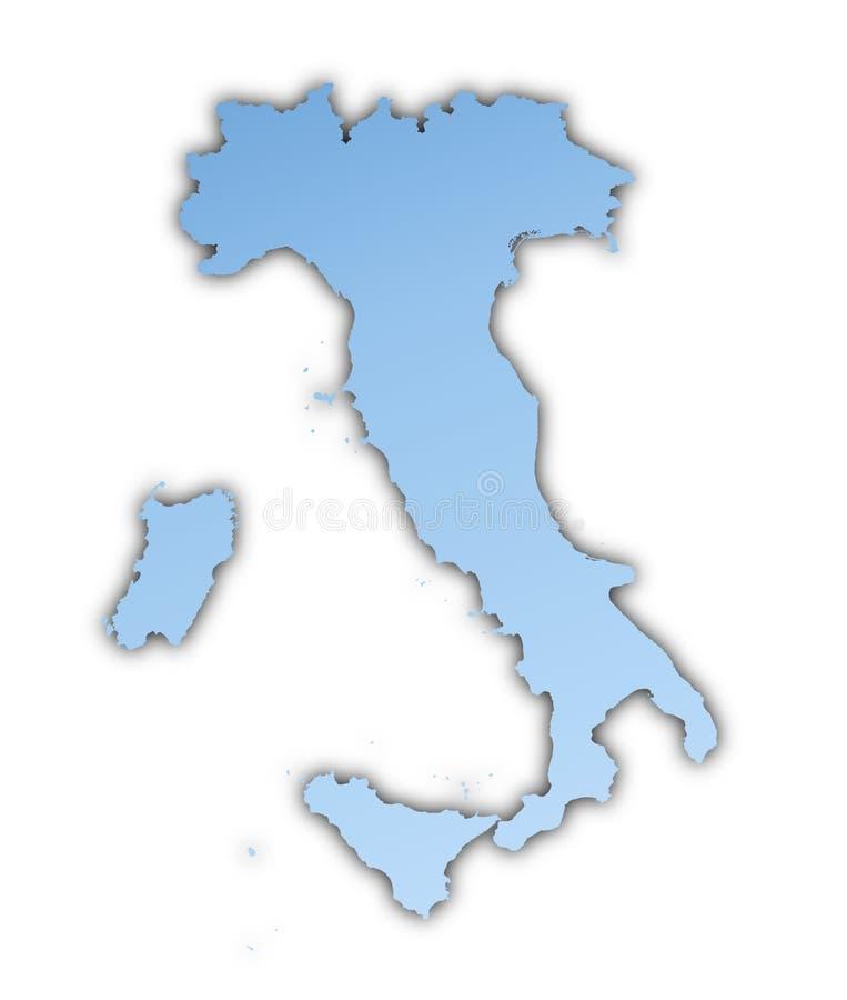 Download Programma dell'Italia illustrazione di stock. Illustrazione di isolato - 7321856