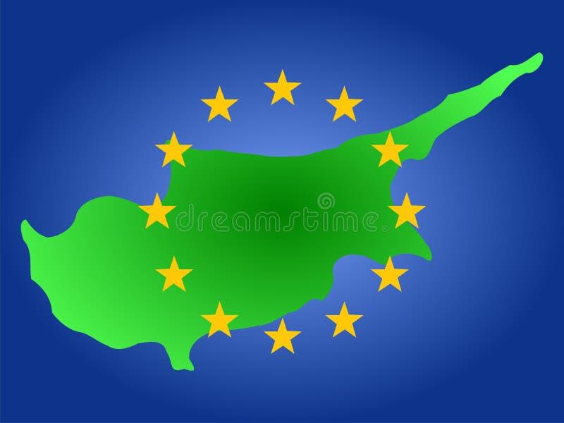 Programma della Cipro royalty illustrazione gratis