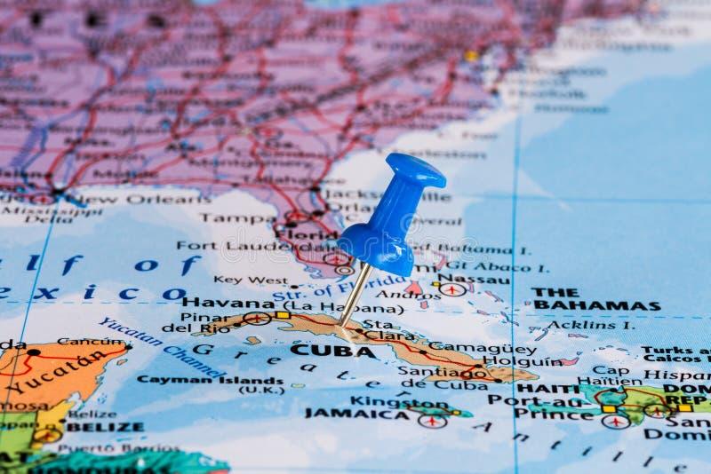 Programma della Cuba immagini stock libere da diritti
