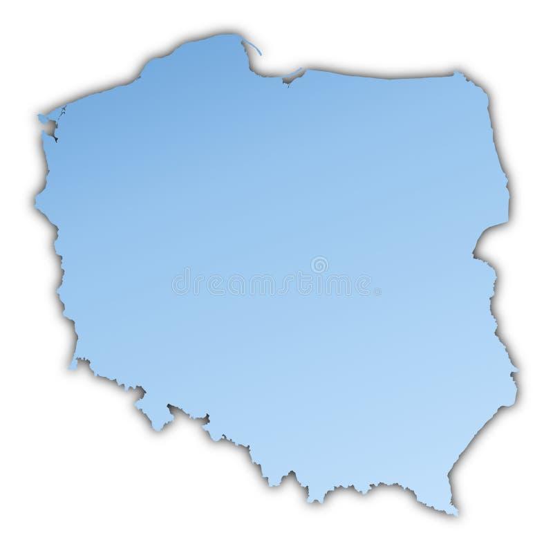 Programma della Polonia illustrazione vettoriale