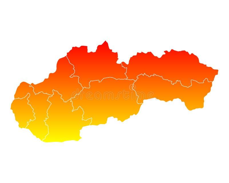 Programma della Slovacchia illustrazione vettoriale