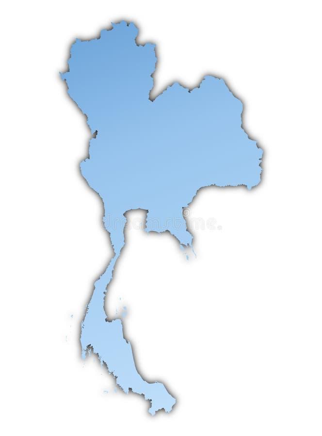 Programma della Tailandia illustrazione di stock