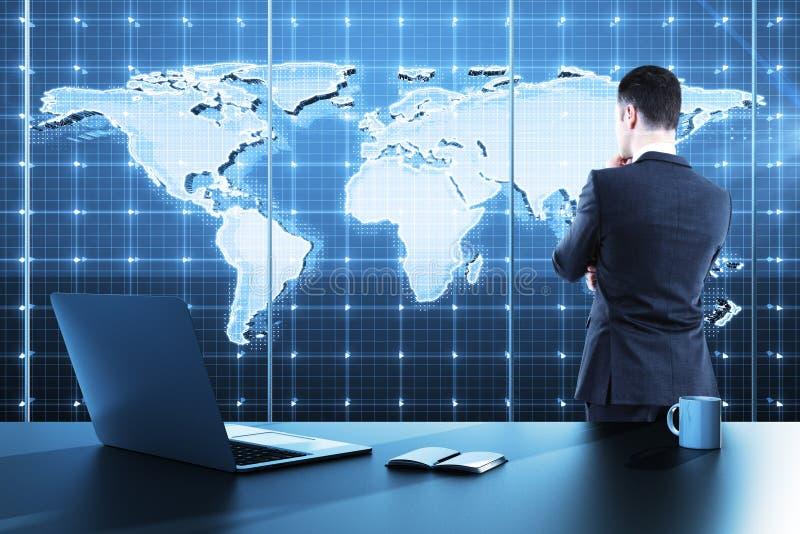Programma di affari globali immagine stock libera da diritti