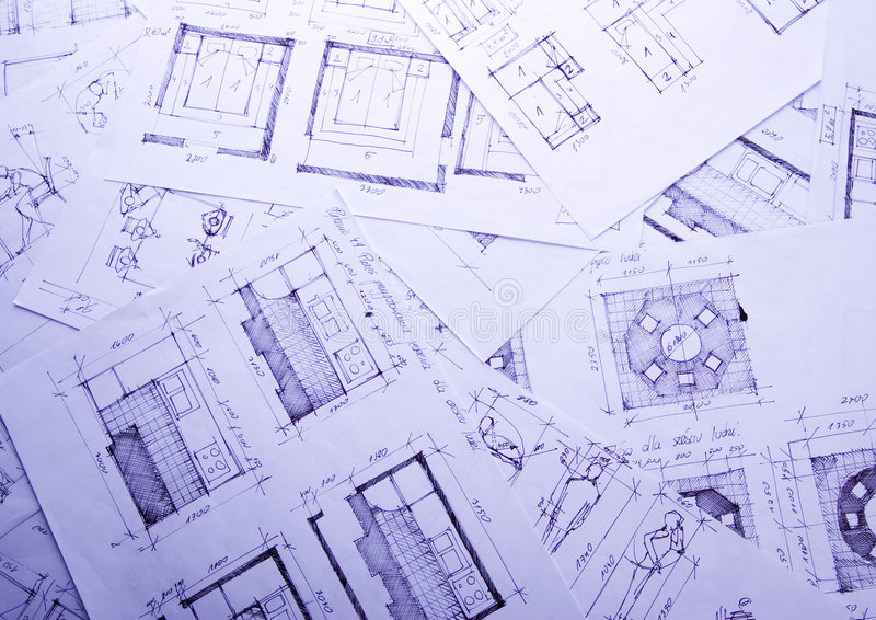 programma di architettura fotografia stock immagine di