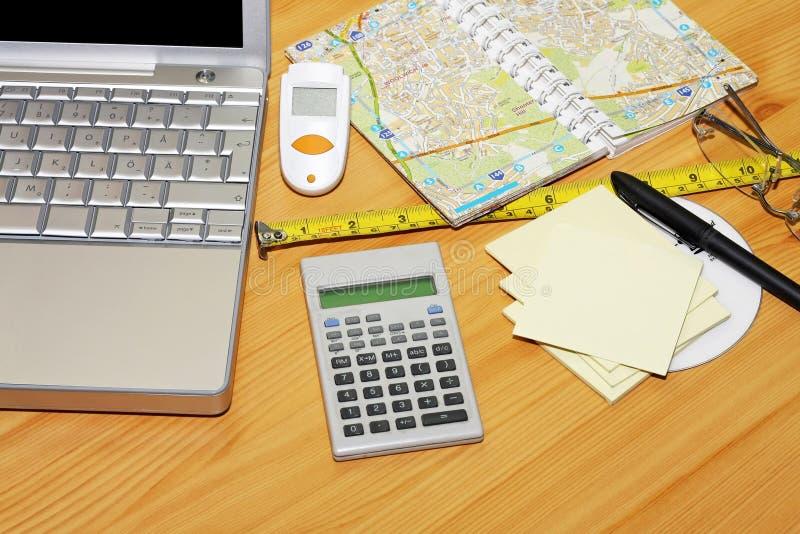 Programma di corsa immagine stock immagine di notepad for Calcolatore del programma di casa