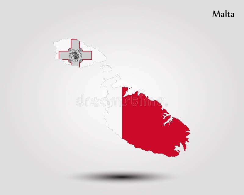 Programma di Malta royalty illustrazione gratis