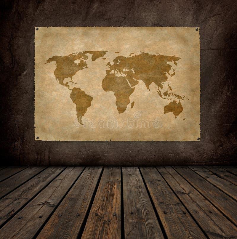 Programma di mondo fotografia stock libera da diritti