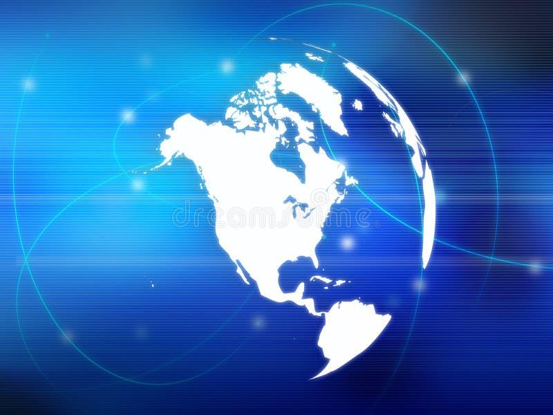 Download Programma di mondo illustrazione di stock. Illustrazione di trasferimento - 3887458