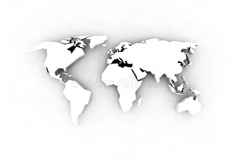 Programma di mondo - 3d rendono royalty illustrazione gratis