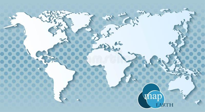 Download Programma di mondo illustrazione vettoriale. Illustrazione di disegno - 55357515
