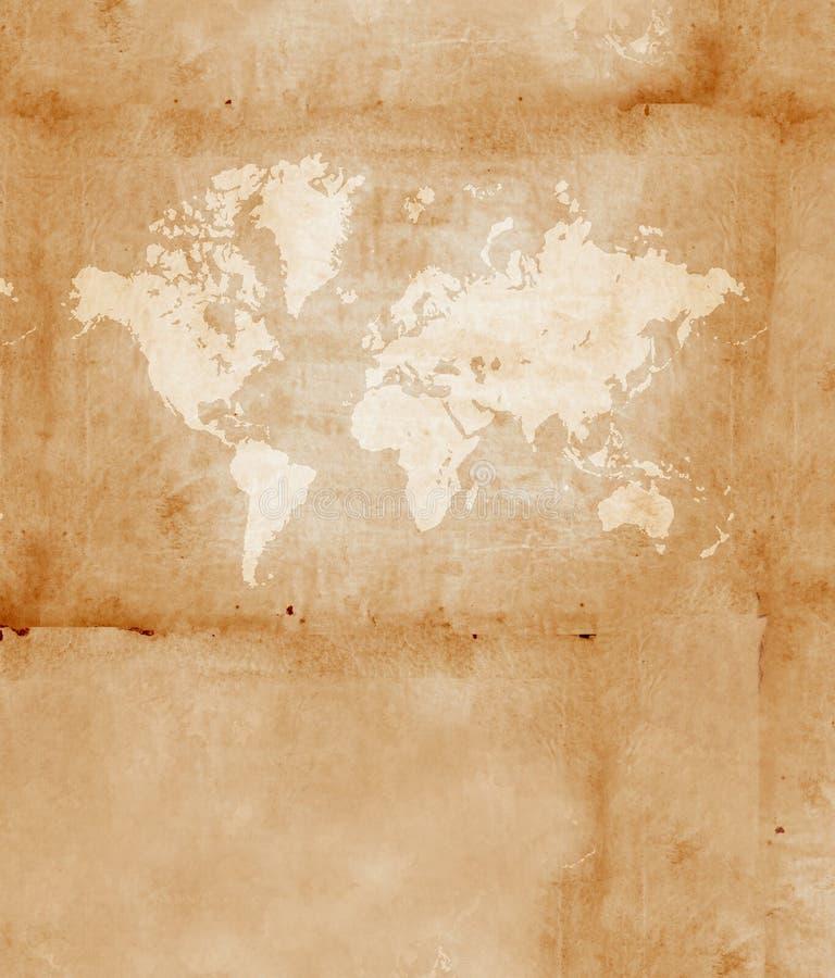 Programma di mondo dell'annata royalty illustrazione gratis