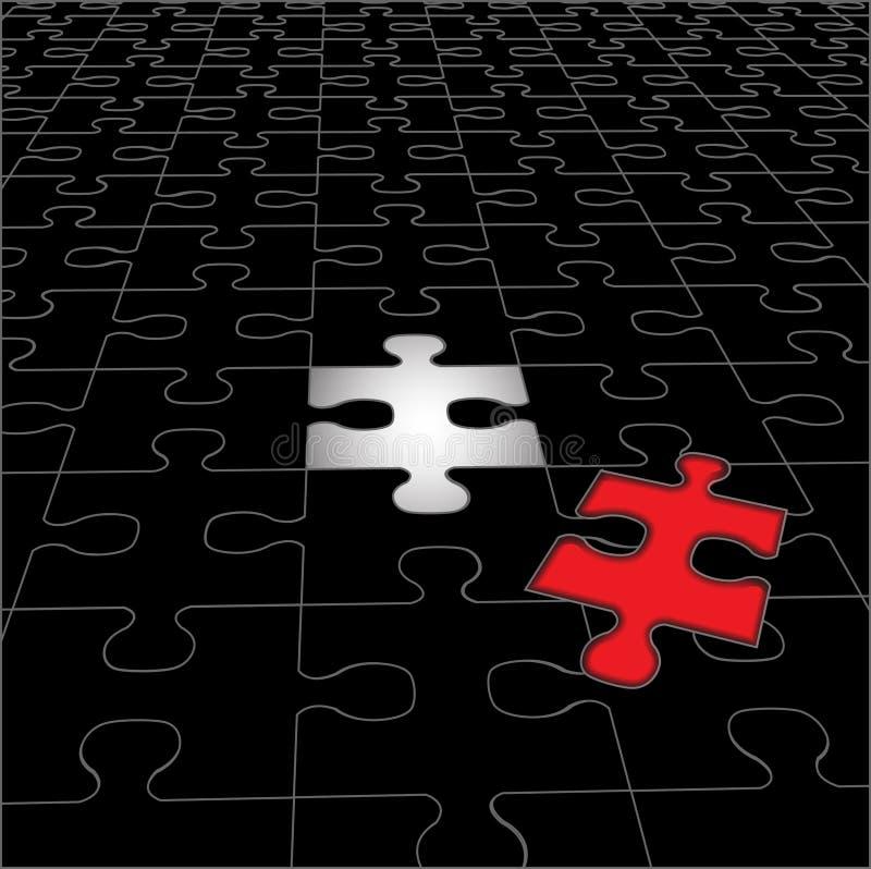 Programma di puzzle royalty illustrazione gratis