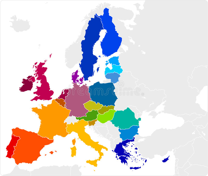 Programma di Unione Europea illustrazione vettoriale