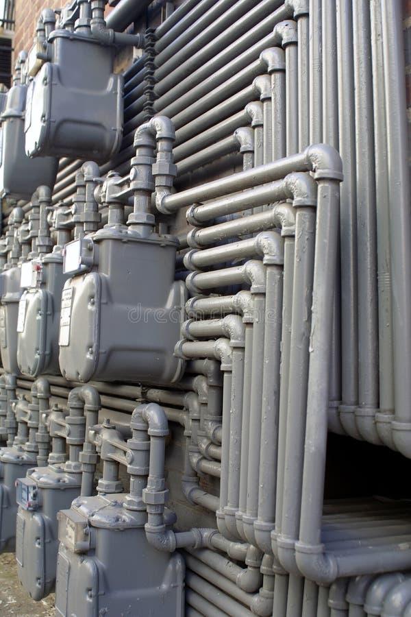 Programma di utilità del tubo di acqua immagini stock libere da diritti