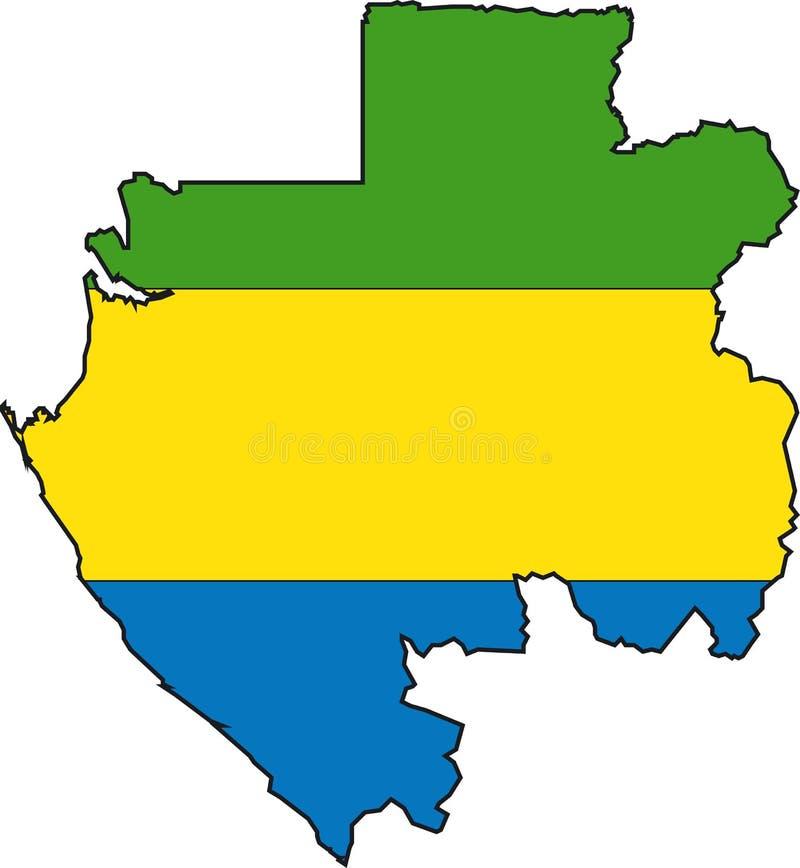 Programma Gabon illustrazione vettoriale